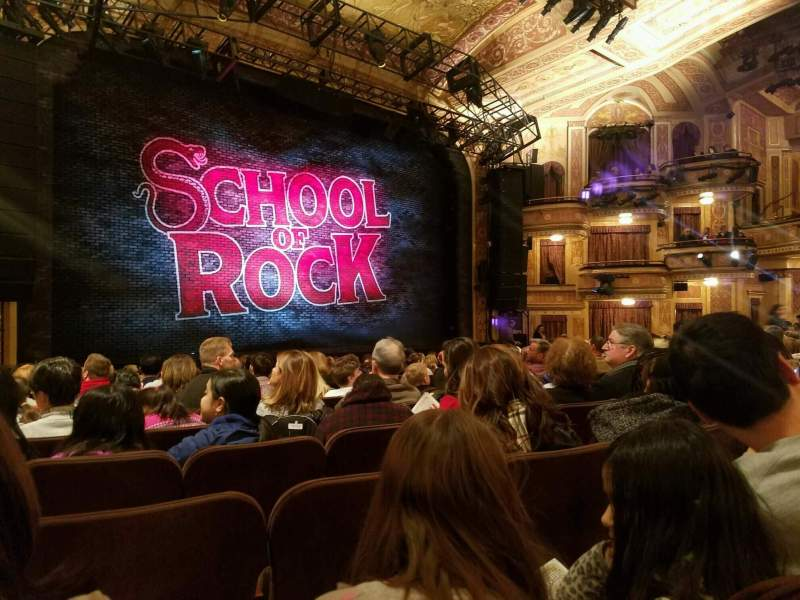 Seating view for Winter Garden Theatre Section Orchestra R Row P Seat 16