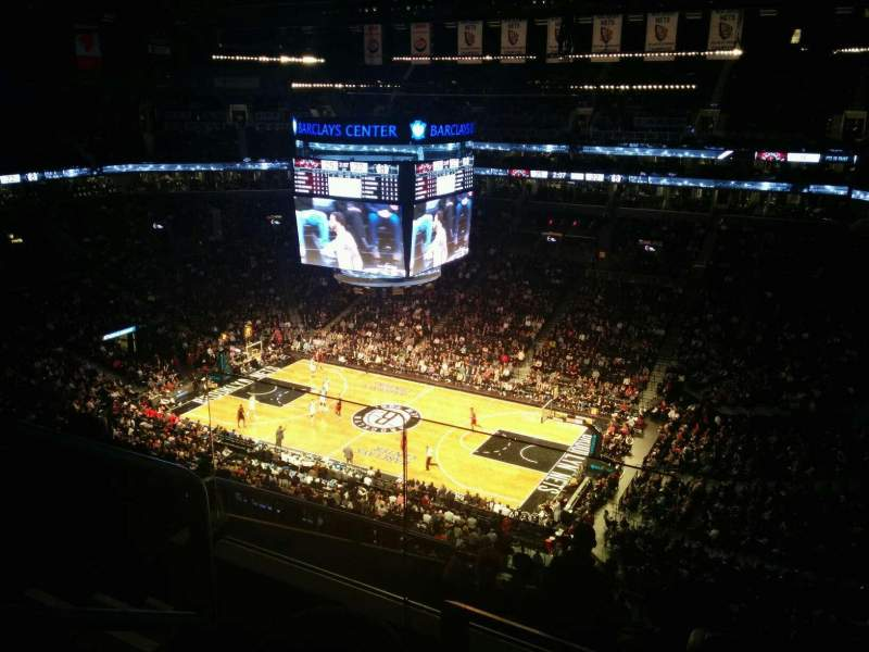 Seating view for Barclays Center Section 205 Row 9 Seat 14