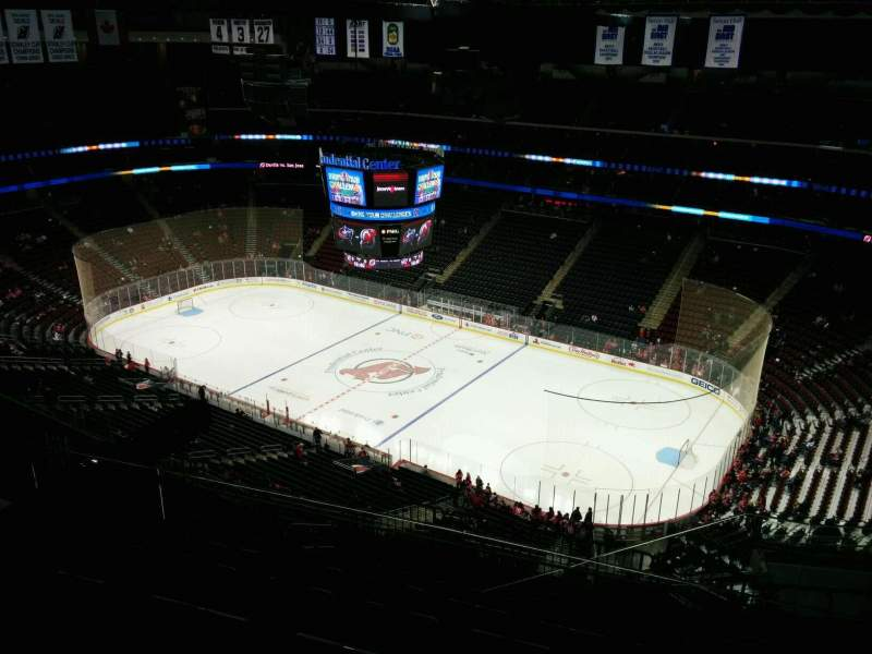 Seating view for Prudential Center Section 215 Row 7 Seat 7