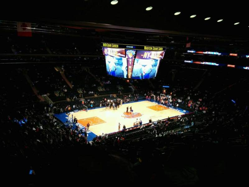 Seating view for Madison Square Garden Section 208 Row 13 Seat 11