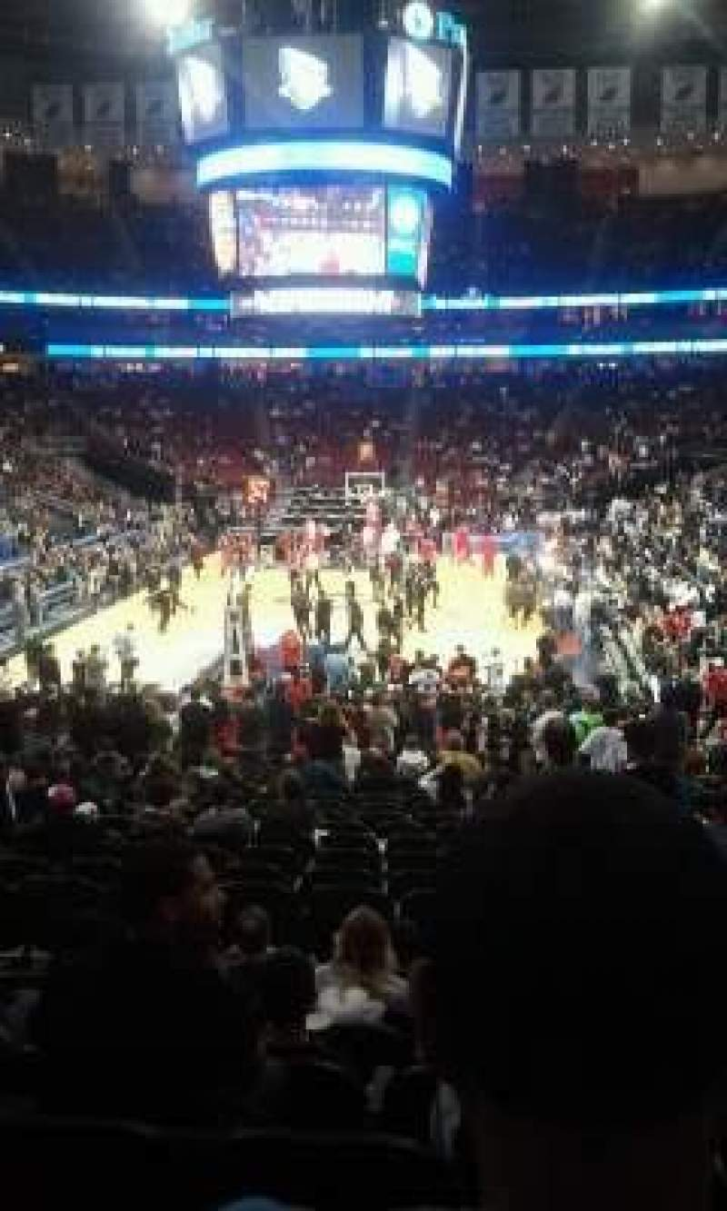 Seating view for Prudential Center Section 3 Row 18 Seat 8