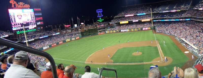 Seating view for Citizens Bank Park Section 324 Row 4 Seat 23