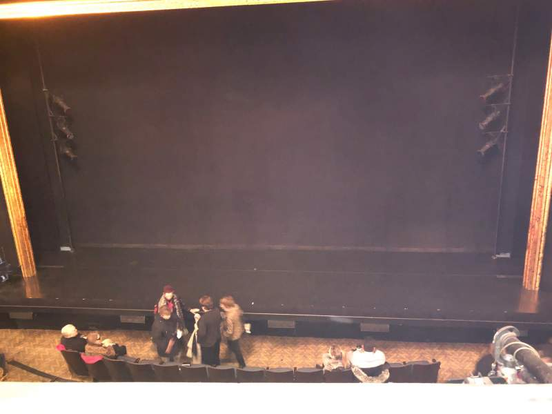 Seating view for Ambassador Theatre Section Front Mezzanine RC Row A Seat 106