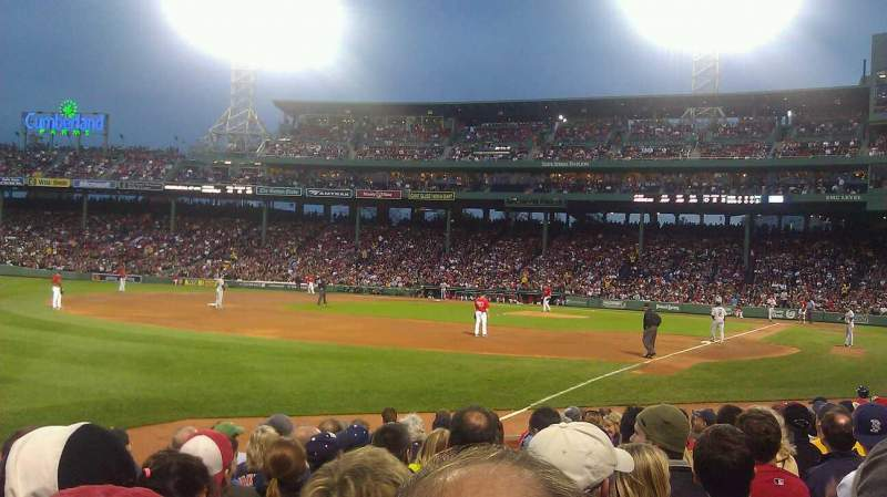 Seating view for Fenway Park Section 31-FB81 Row L Seat 4
