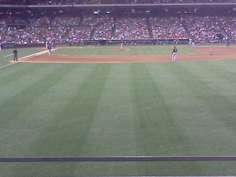 Seating view for Citizens Bank Park Section 105 Row 2 Seat 17