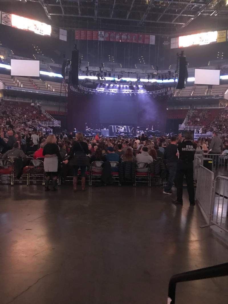 Seating view for KFC Yum! Center Section 112 Row D Seat 1