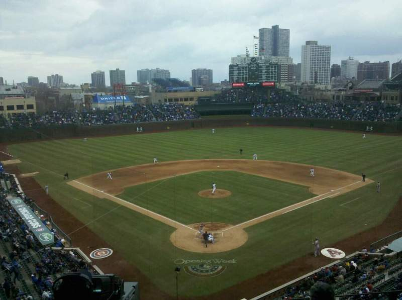 Seating view for Wrigley Field Section 421 Row 5 Seat 4