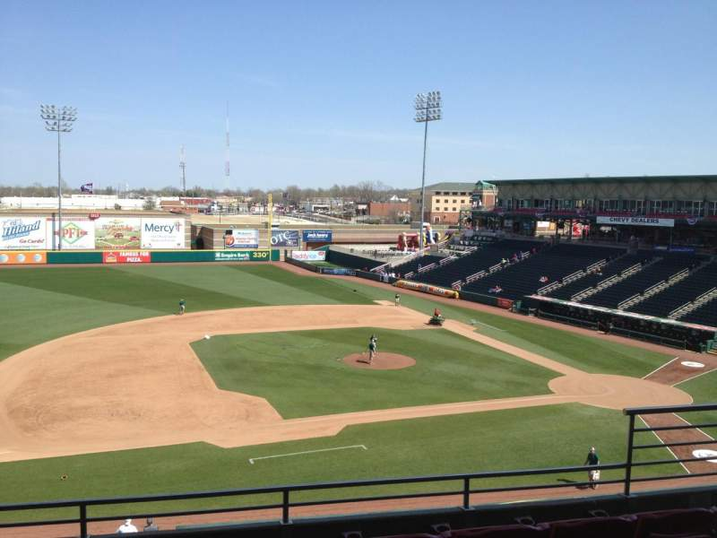Hammons Field, section: DD, row: 5, seat: 5