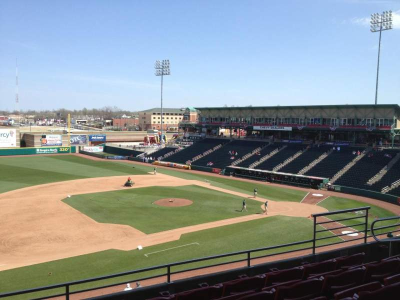 Hammons Field, section: EE, row: 5, seat: 5
