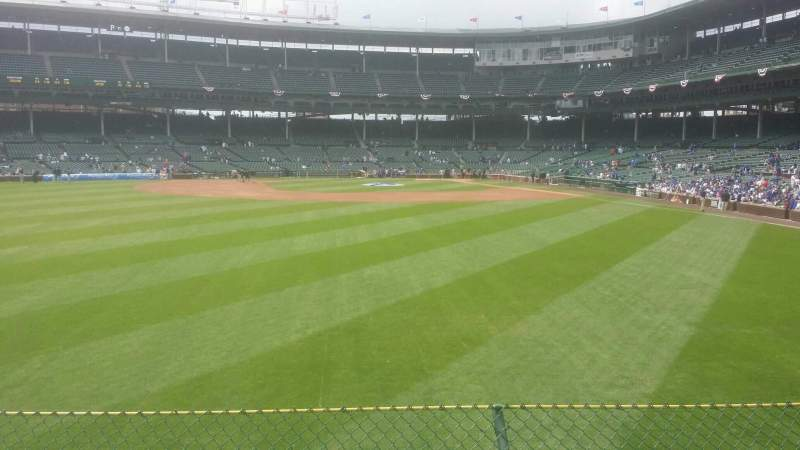 Seating view for Wrigley Field Section 502 Row 3 Seat 13