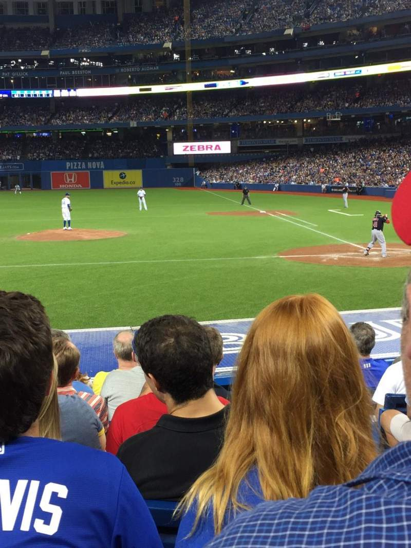 Seating view for Rogers Centre Section 125L Row 15 Seat 102