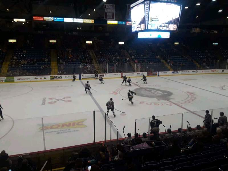 Seating view for Santander Arena Section 118 Row M Seat 14