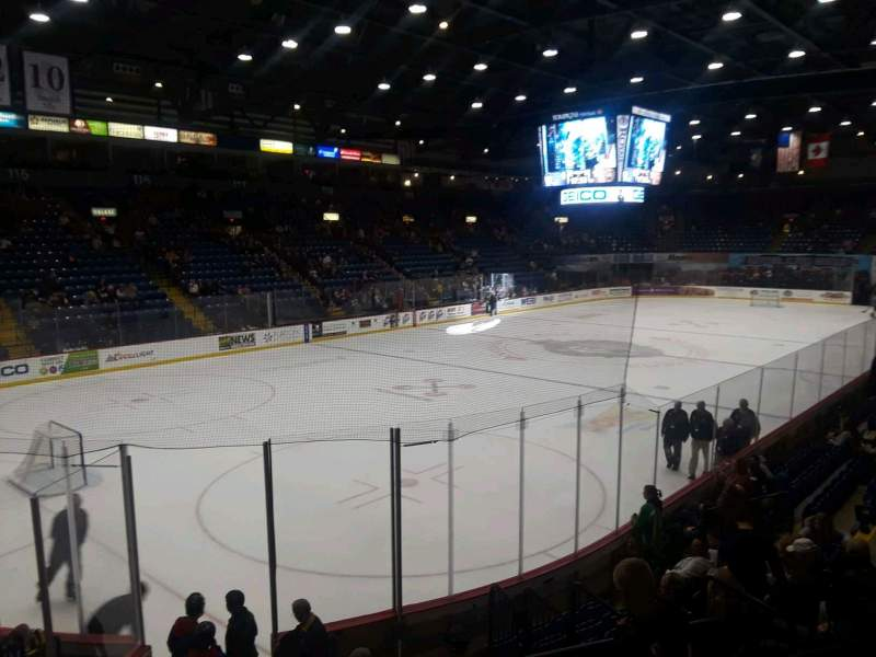 Seating view for Santander Arena Section 109 Row L Seat 3