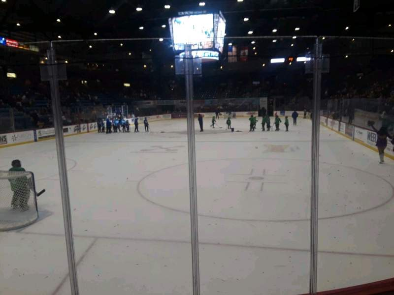 Seating view for Santander Arena Section 110 Row D Seat 4