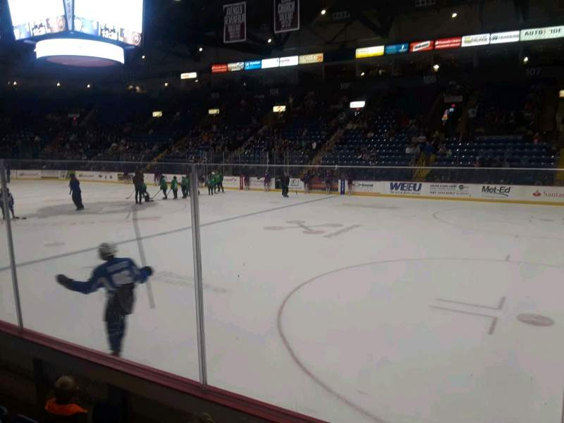 Seating view for Santander Arena Section 115 Row D Seat 1