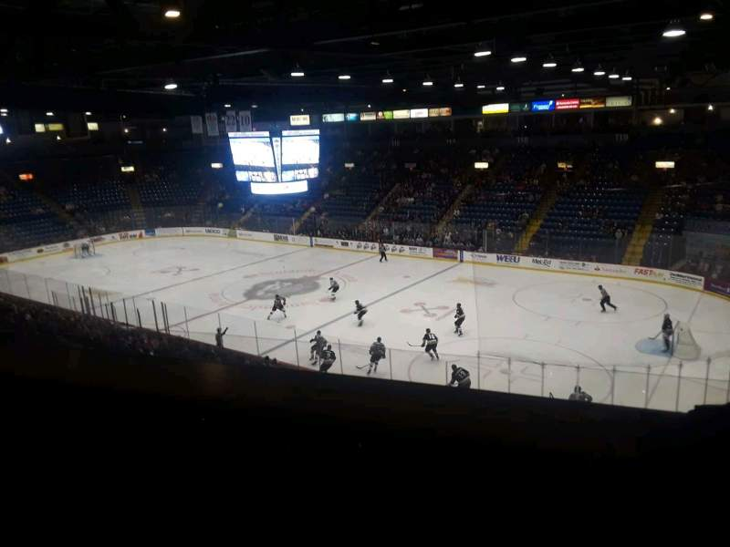 Seating view for Santander Arena Section Suite Level