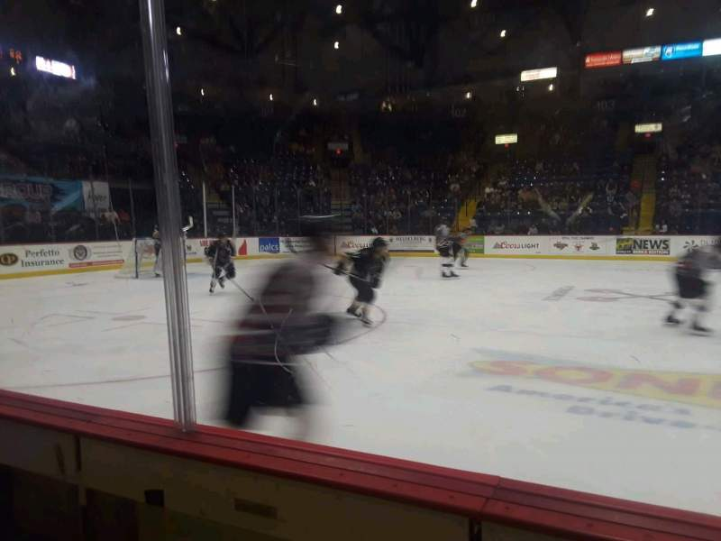 Seating view for Santander Arena Section 118 Row B Seat 11