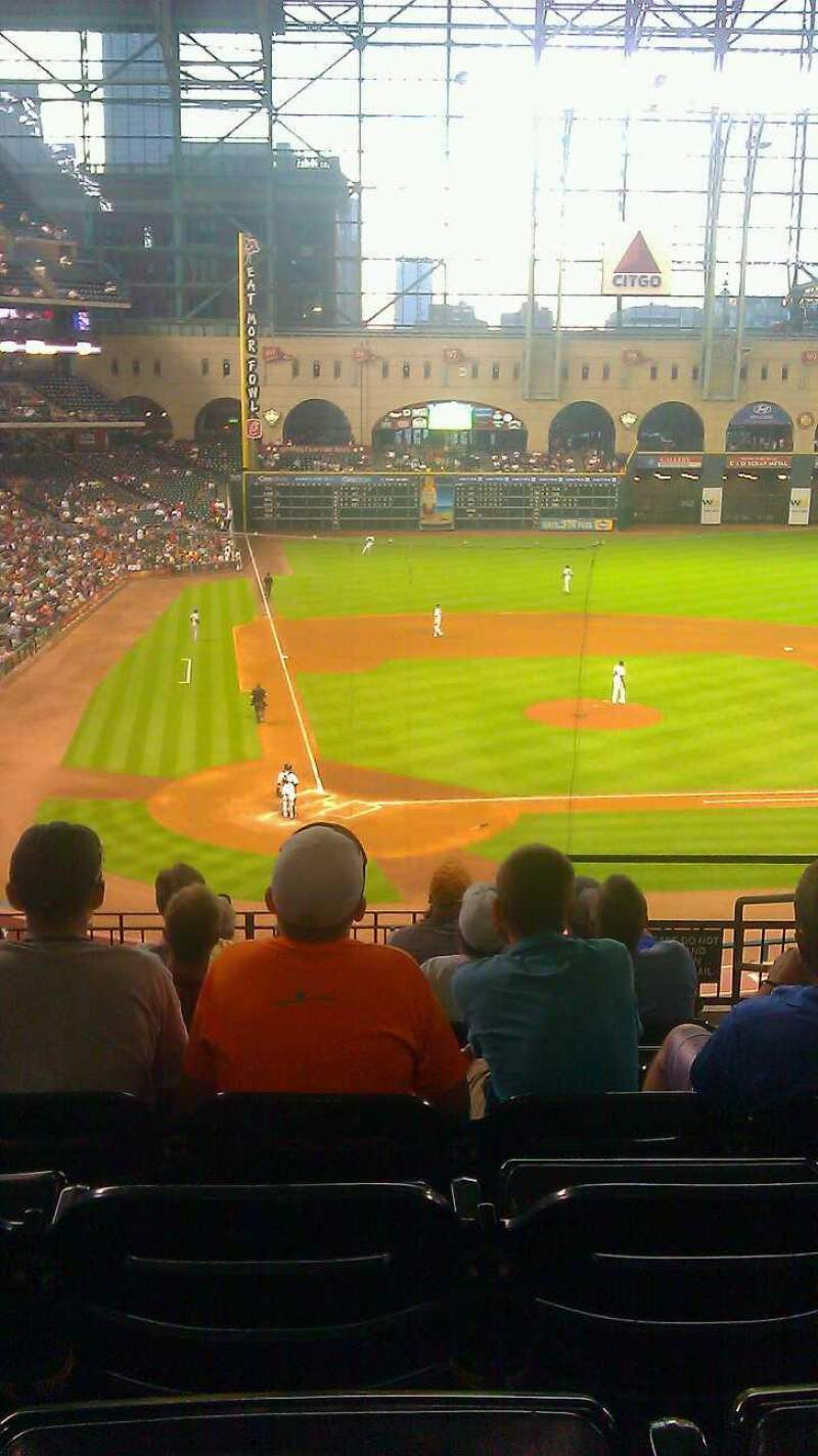 Seating view for Minute Maid Park Section 222 Row 8 Seat 14