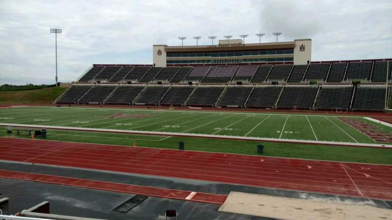 Seating view for Louis Crews Stadium Section 18 Row 7 Seat 6