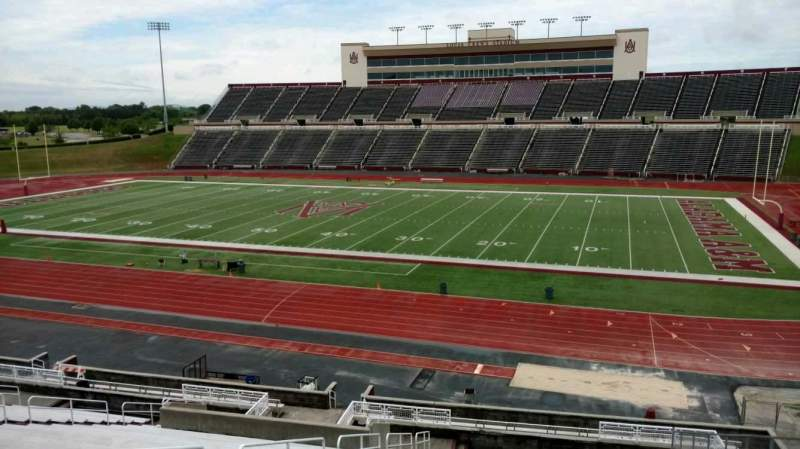 Seating view for Louis Crews Stadium Section 18 Row 29 Seat 7
