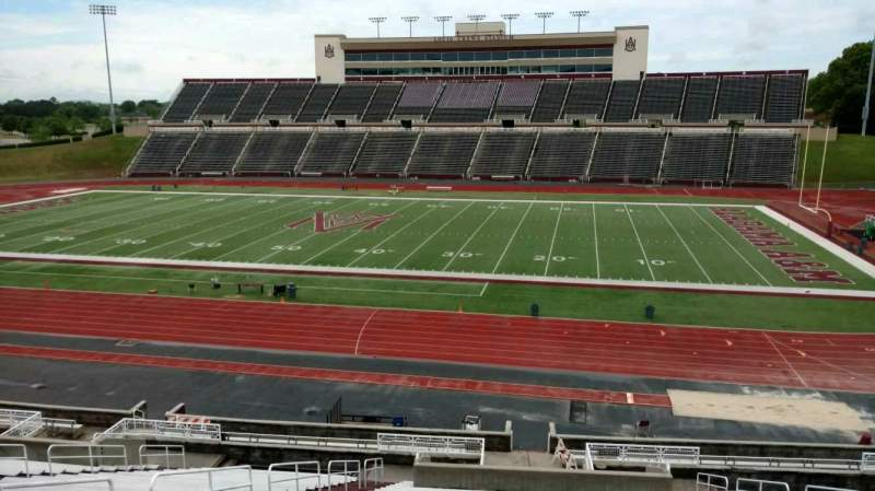 Seating view for Louis Crews Stadium Section 19 Row 30 Seat 12