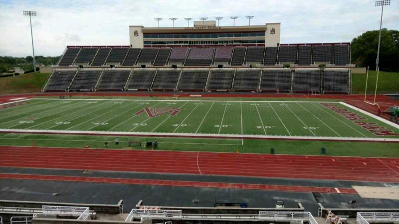 Seating view for Louis Crews Stadium Section 20 Row 30 Seat 7
