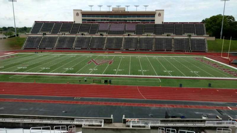 Seating view for Louis Crews Stadium Section 21 Row 30 Seat 9