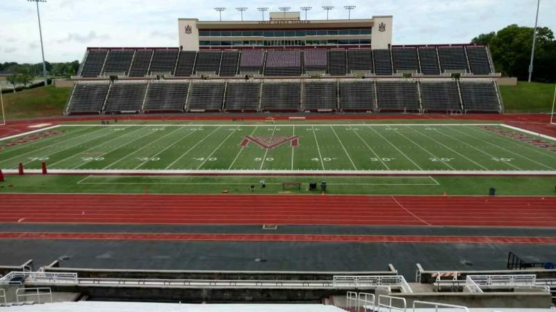 Seating view for Louis Crews Stadium Section 22 Row 30 Seat 6