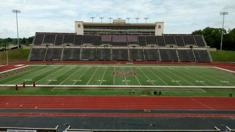Seating view for Louis Crews Stadium Section 22 Row 30 Seat 26