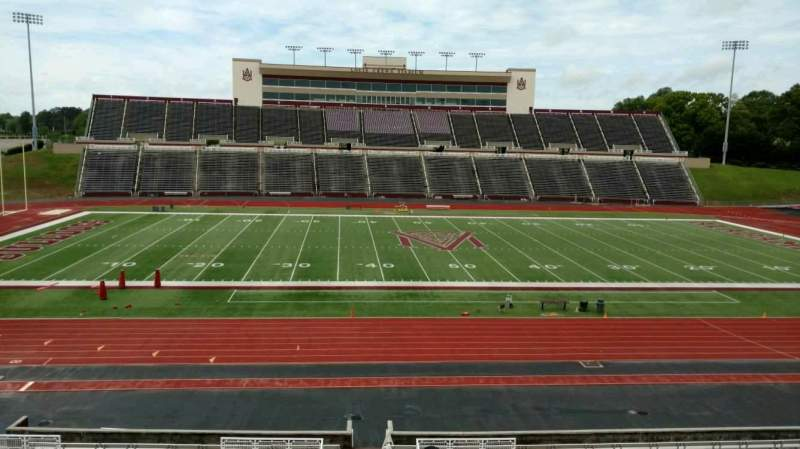 Seating view for Louis Crews Stadium Section 23 Row 30 Seat 10