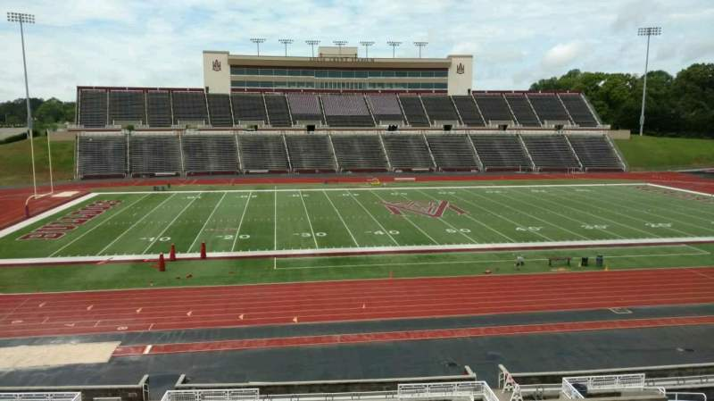 Seating view for Louis Crews Stadium Section 24 Row 30 Seat 7