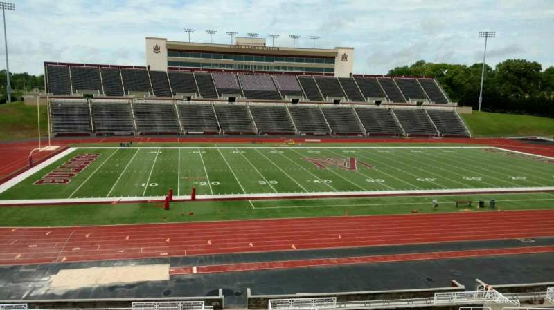 Seating view for Louis Crews Stadium Section 25 Row 30 Seat 11