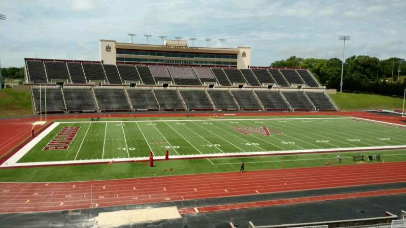 Seating view for Louis Crews Stadium Section 26 Row 30 Seat 6