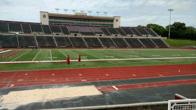 Seating view for Louis Crews Stadium Section 26 Row 5 Seat 6
