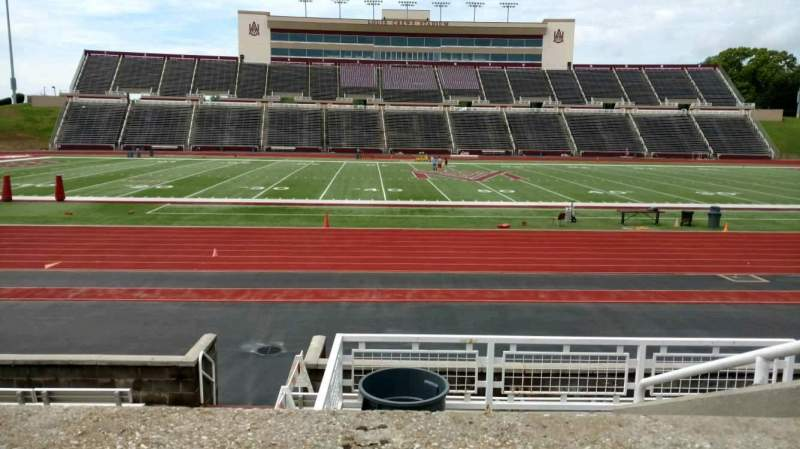 Seating view for Louis Crews Stadium Section 23 Row 6 Seat 5