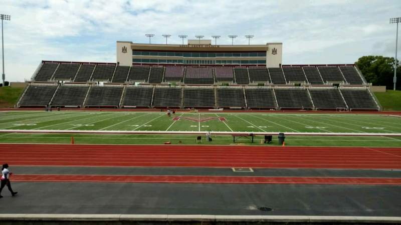 Seating view for Louis Crews Stadium Section 22 Row 5 Seat 15