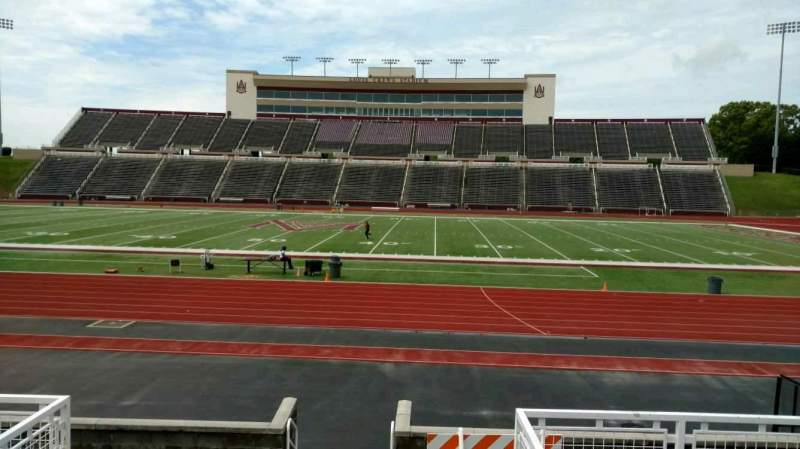 Seating view for Louis Crews Stadium Section 21 Row 6 Seat 8