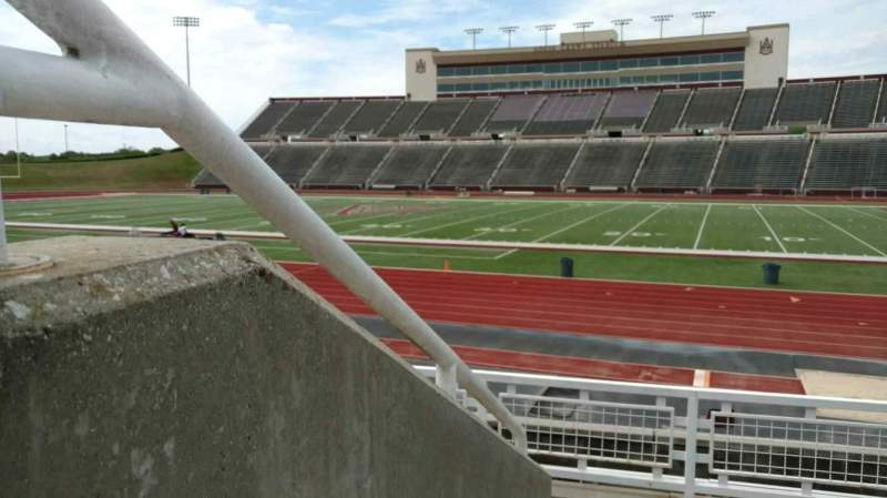 Seating view for Louis Crews Stadium Section 19 Row 5 Seat 1