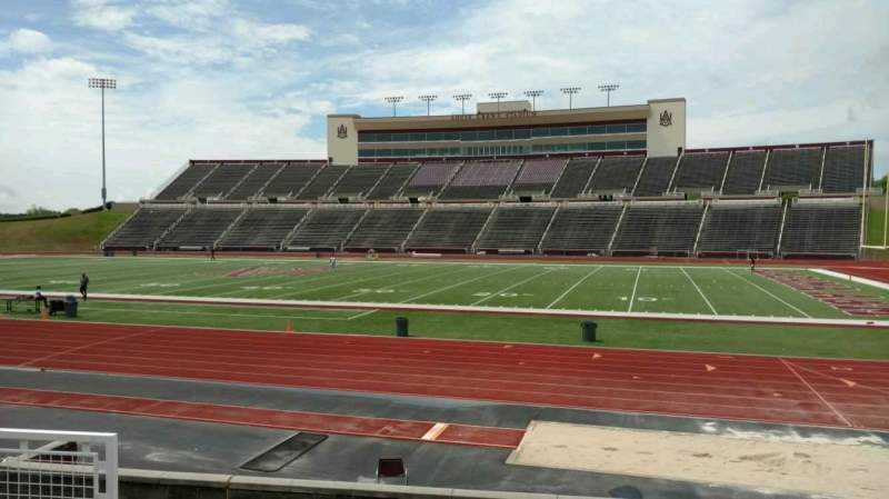 Seating view for Louis Crews Stadium Section 18 Row 5 Seat 7
