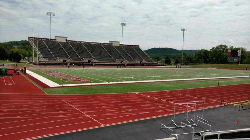 Seating view for Louis Crews Stadium Section K Row 10 Seat 12