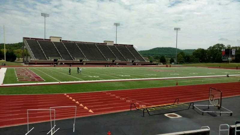 Seating view for Louis Crews Stadium Section J Row 10 Seat 17