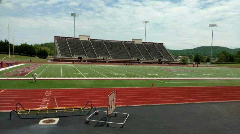 Seating view for Louis Crews Stadium Section I Row 10 Seat 20