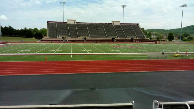 Seating view for Louis Crews Stadium Section H Row 10 Seat 6