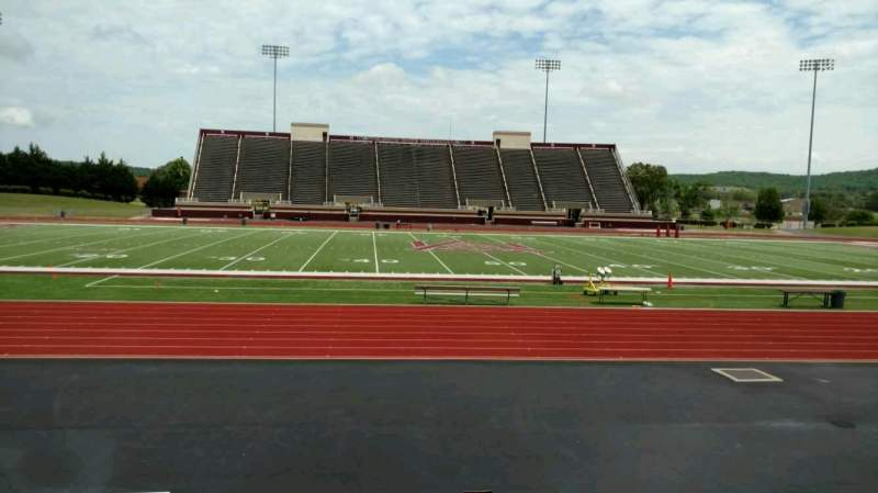 Seating view for Louis Crews Stadium Section G Row 10 Seat 5