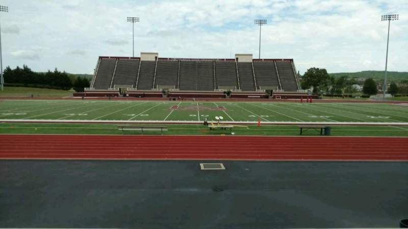 Seating view for Louis Crews Stadium Section F Row 10 Seat 15