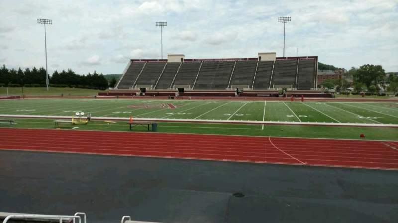 Seating view for Louis Crews Stadium Section D Row 10 Seat 18