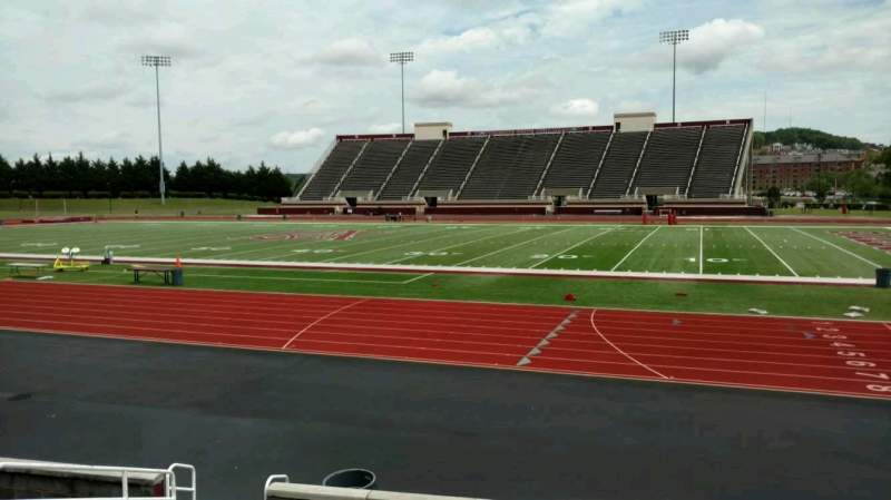 Seating view for Louis Crews Stadium Section C Row 10 Seat 19