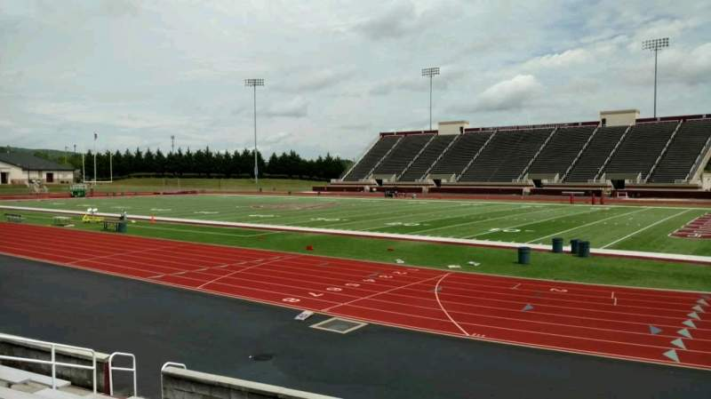 Seating view for Louis Crews Stadium Section B Row 10 Seat 7