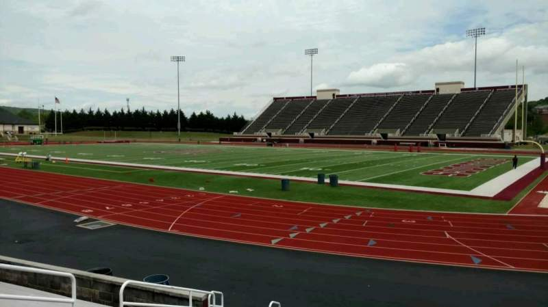 Seating view for Louis Crews Stadium Section A Row 10 Seat 14