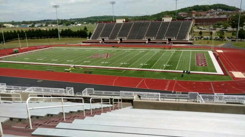 Seating view for Louis Crews Stadium Section 4 Row 20 Seat 14